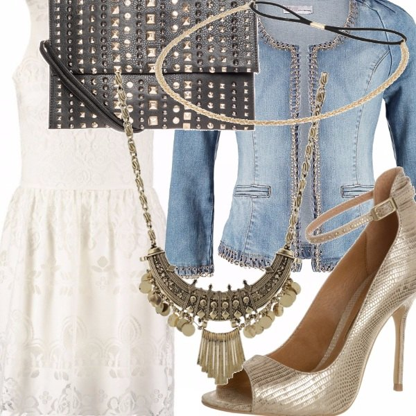 Outfit Jeans Glamour