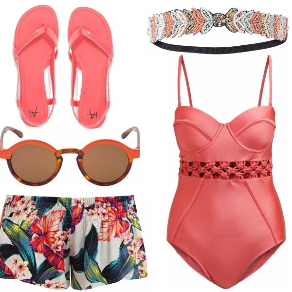 Outfit Hawaiian summer