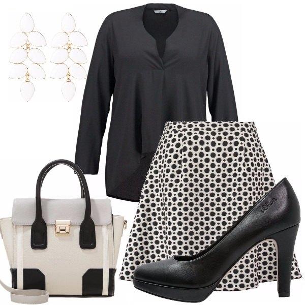 Outfit Curvy al lavoro