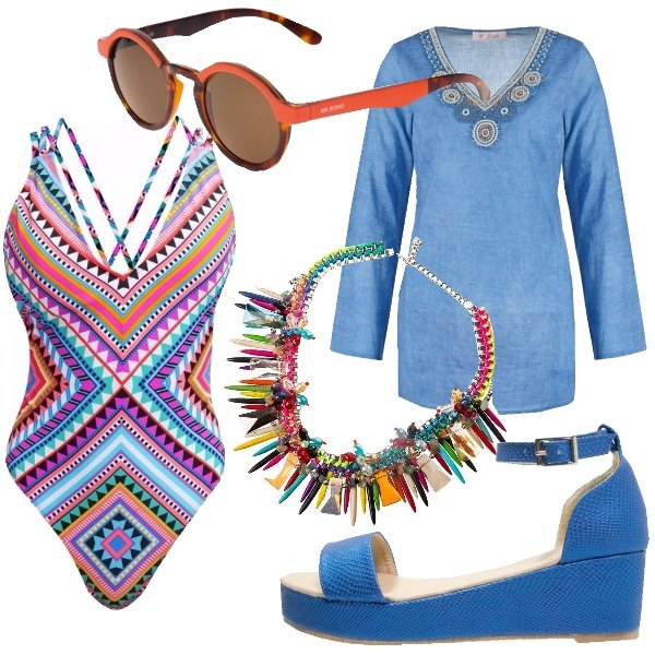 Outfit Mare multicolor
