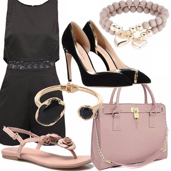 Outfit La tutina nera