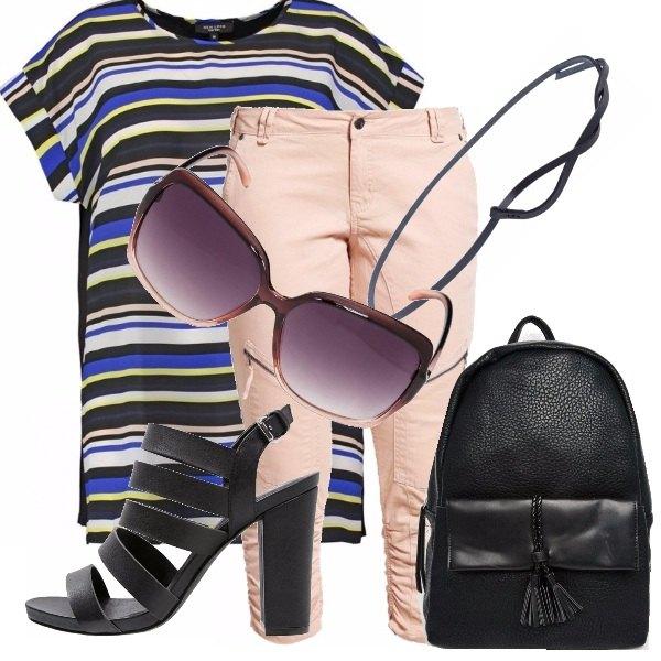 Outfit Look ufficio per taglie comode