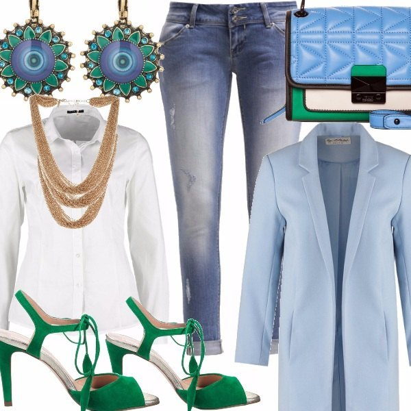 Outfit Roll up Jeans, Il risvolto