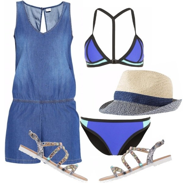 Outfit Tramonto al mare
