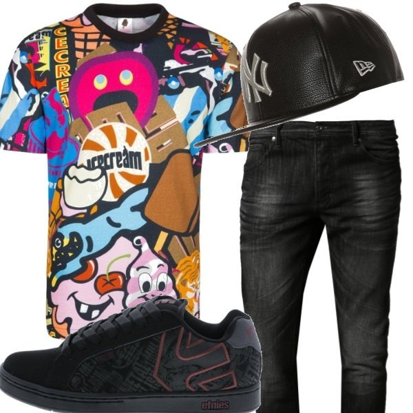 Outfit Candy Man