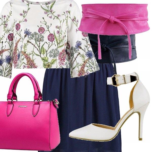 Outfit Fiori e colore
