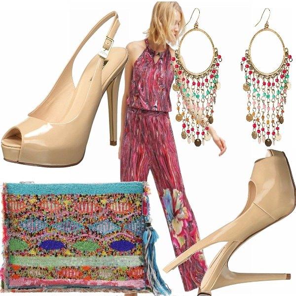 Outfit Tuta jumpsuit, multicolor!