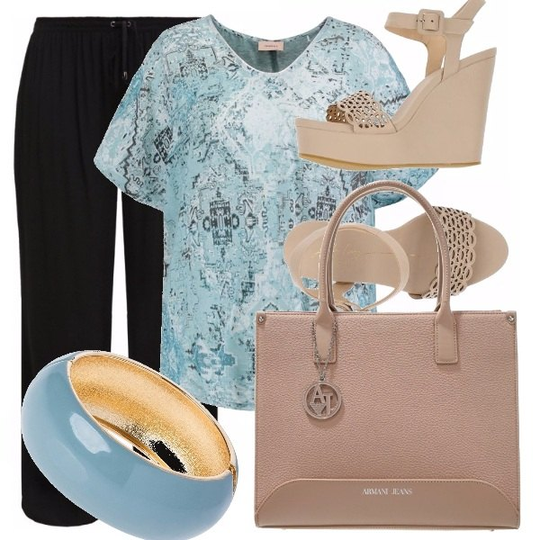 Outfit Curvy blu