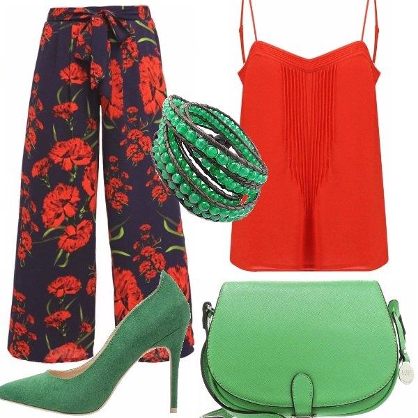 Outfit Abbinata di colori