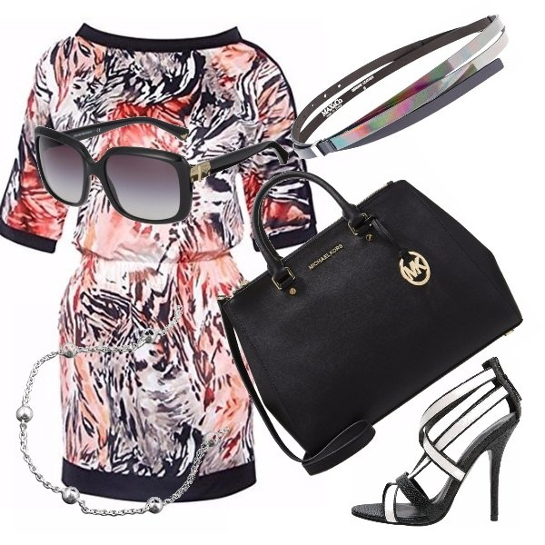 Outfit Elegante in animalier