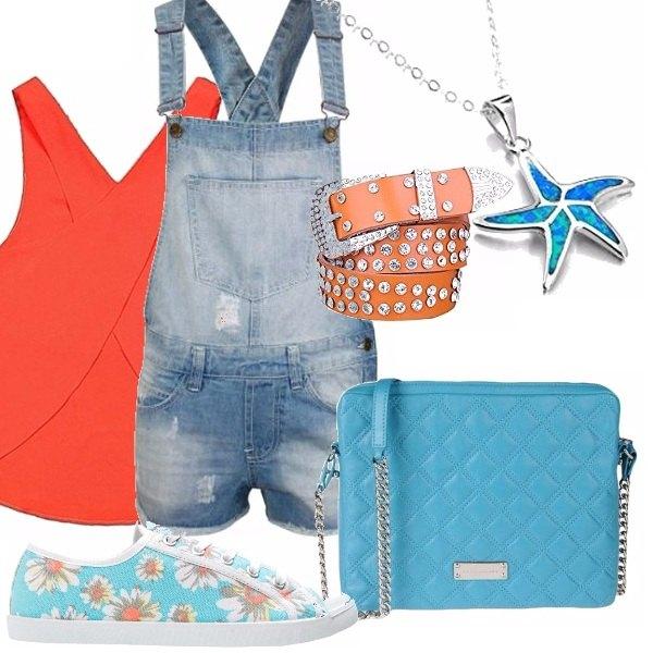 Outfit A caccia di stelle marine !
