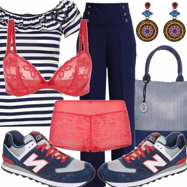 Outfit Sportivo e passionale