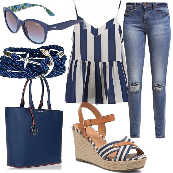Outfit Blue navy