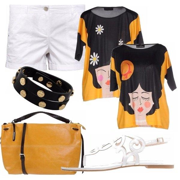 Outfit La t-shirt doppia