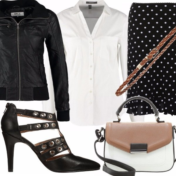 Outfit A touch of bad girl...