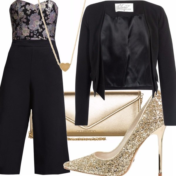 Outfit Golden Heart