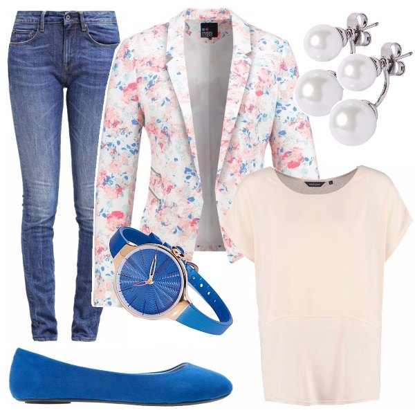 Outfit Blu, mon amour