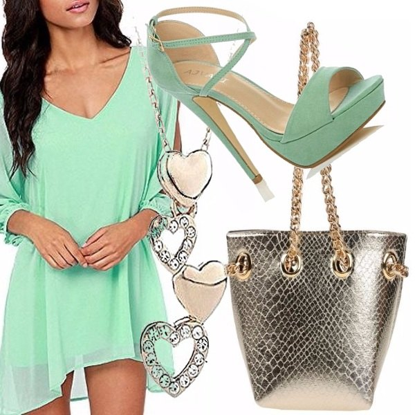 Outfit Light green