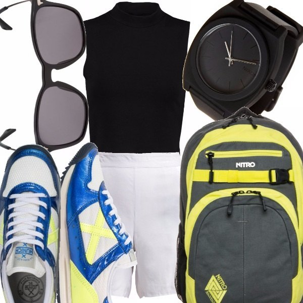 Outfit Sneakers fluo