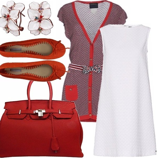 Outfit Red orchid