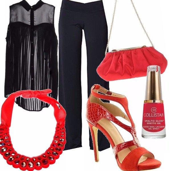 Outfit Questione di rossi