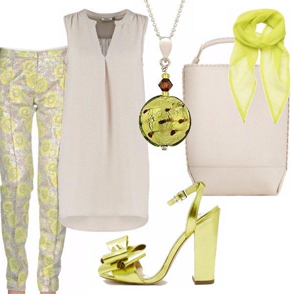 Outfit L'eleganza in beige
