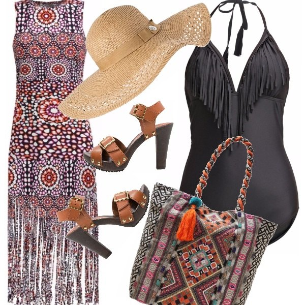 Outfit Etnie al mare