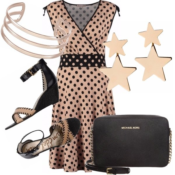 Outfit Pois e stelle