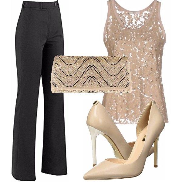 Outfit Un look semplice e chic