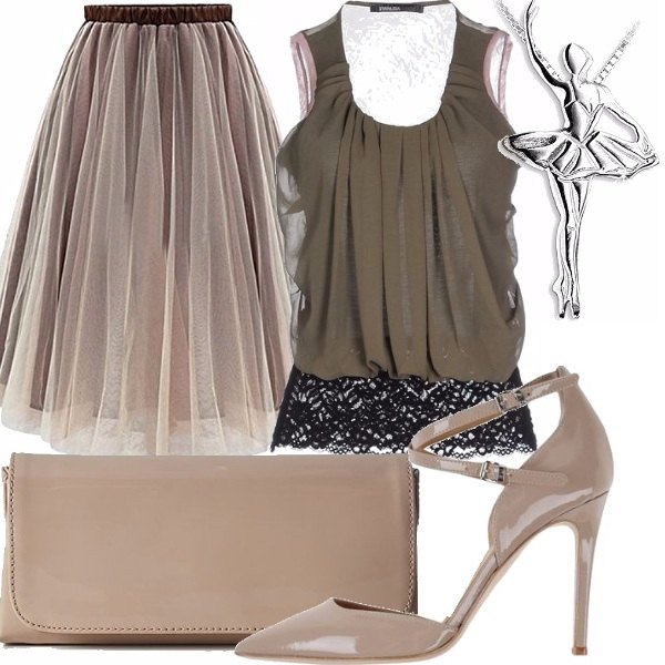 Outfit Tulle glam