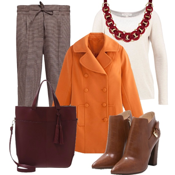 Outfit L'autunno si scalda