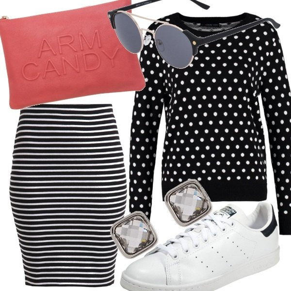 Outfit Polka dots & Stripes