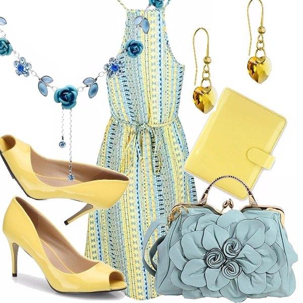 Outfit Di sole e d'azzurro