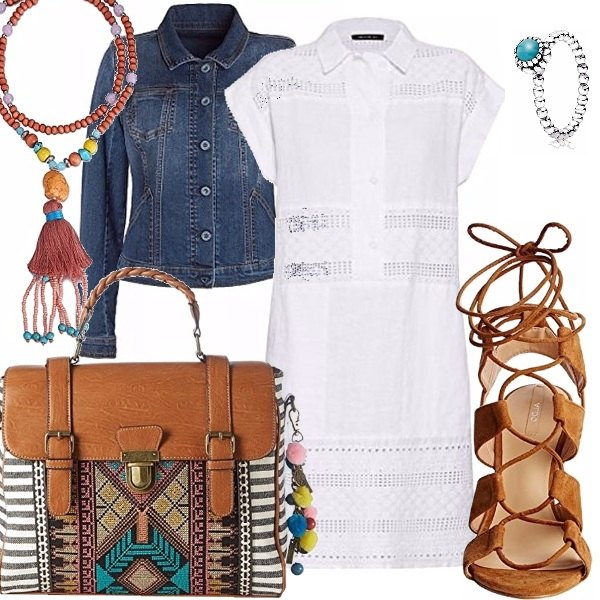 Outfit Tribal summer