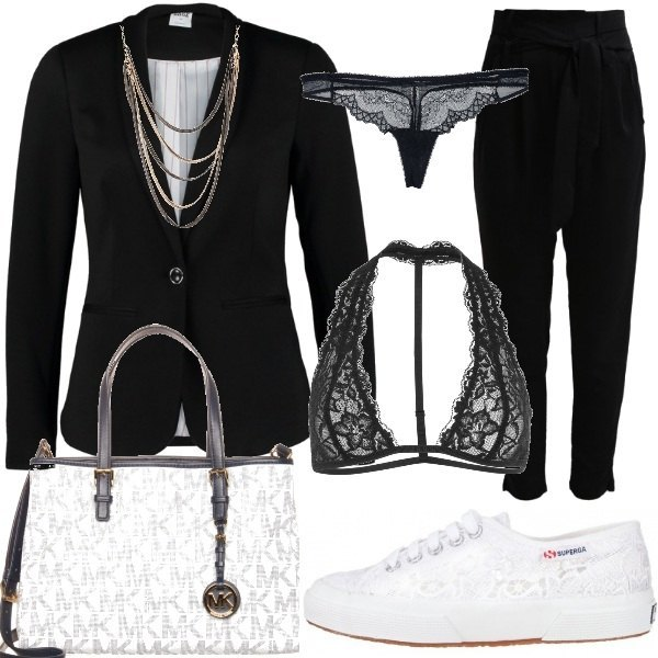 Outfit Sneakers chic