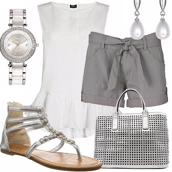 Outfit Fresca e raffinata