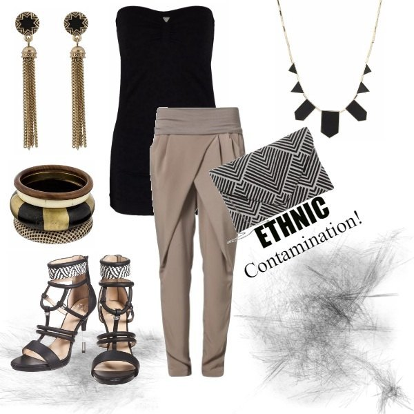 Outfit ETHNIC CONTAMINATION