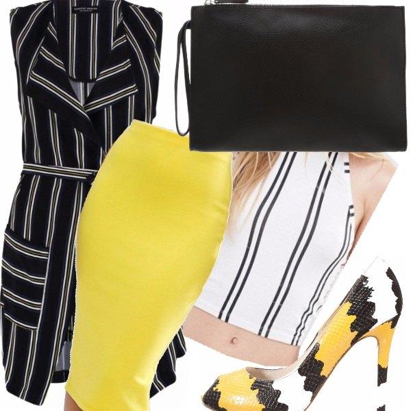 Outfit Colore rigoroso