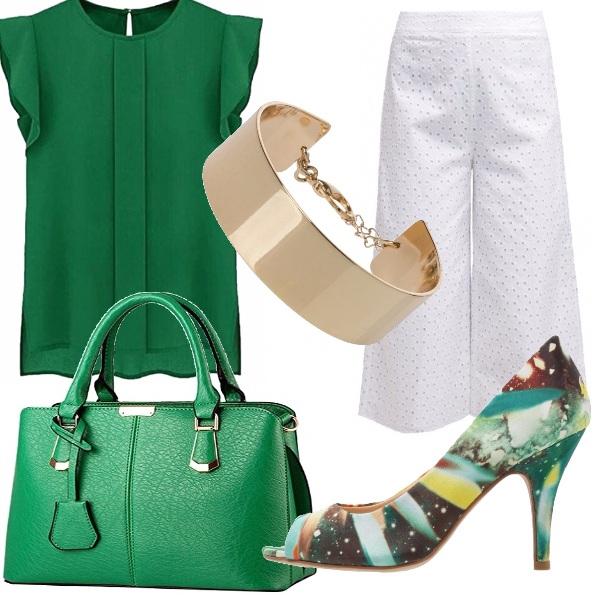 Outfit Saggezza del verde