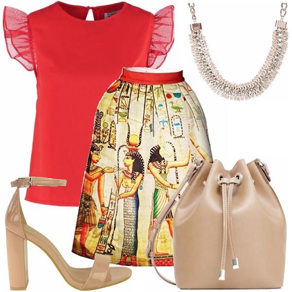 Outfit Egizia bon ton