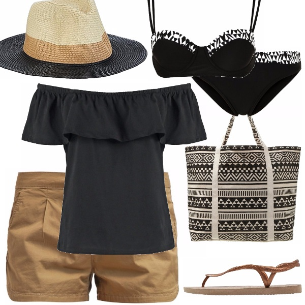 Outfit Spiaggia etnica