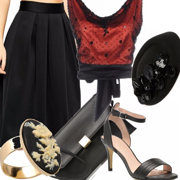 Outfit Donna d'altri tempi
