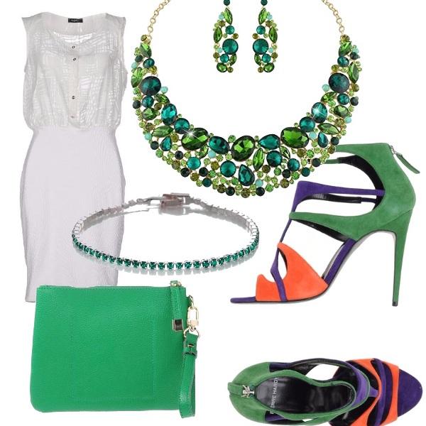 Outfit Verde d'estate