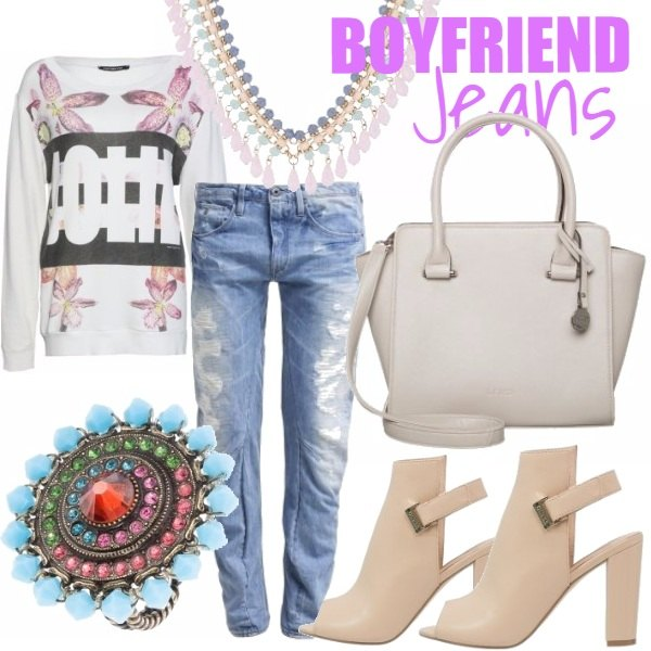 Outfit BOYFRIEND JEANS