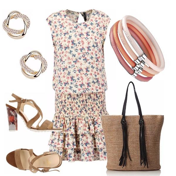 Outfit Delizioso l'abitino floreale