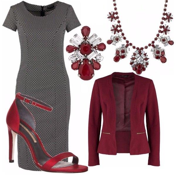 Outfit Mrs. Bordeaux
