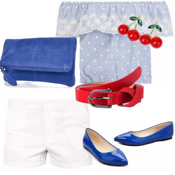 Outfit Glamour e sfiziosa