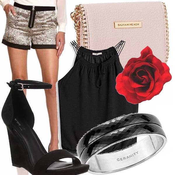Outfit Glamour shine
