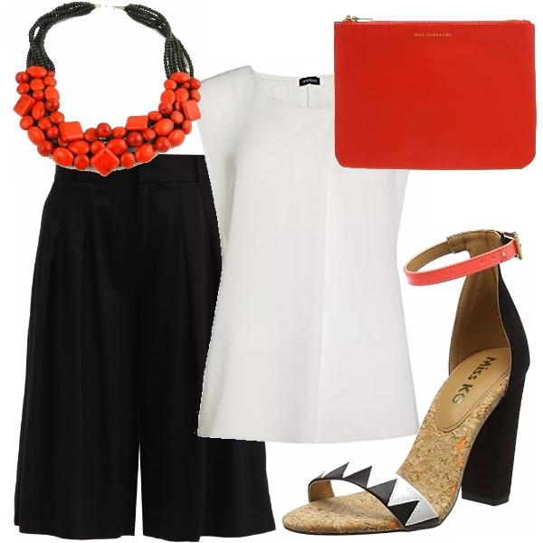 Outfit Corallo dètail
