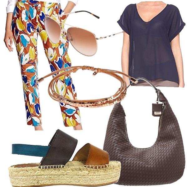 Outfit Estate colorata